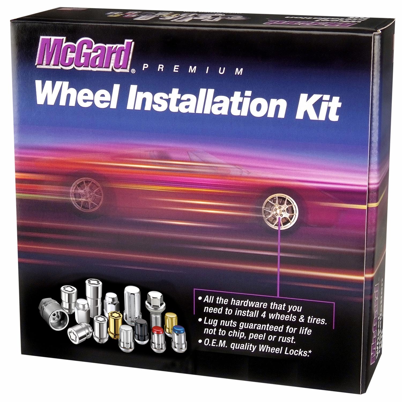 M12 x 1.5 Thread Size McGard 84519 Under Hub Cap Cone Seat Wheel Installation Kit For 5 Lug Wheels
